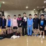 『7/14 宮城県中学生卓球選手権に参加しました』の画像