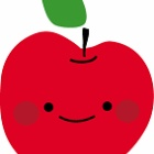 『リンゴを売りに来た』の画像