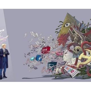 『【画像】トランプ大統領、ガチで現代の救世主(メシア)だった…』の画像