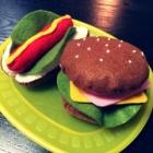 『フェルトキット☆ハンバーガー』の画像