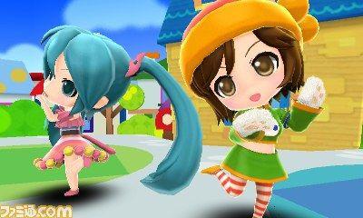 【ゲーム】3DS「初音ミク Project mirai 2(仮)」 ねんどろいどデザインのミクが主演の最新作発表