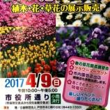 『戸田市花フェスタ2017(第60回植木市)4月9日開催』の画像