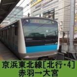 『京浜東北線 車窓[北行・4]赤羽→大宮』の画像