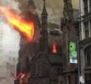 【画像】ニューヨークにあるセルビア正教の歴史的建造物で大火災!