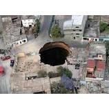 『地球に穴?』の画像