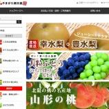 『支援事例<やまがた朝日屋さん>オンラインストアリニューアルで売上増加!』の画像