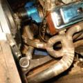 半自動溶接機 ダイヘンインバーターオート350 【試運転】 DRAGサニーガレージ