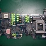 『apple imac G5のコンデンサ交換手術』の画像