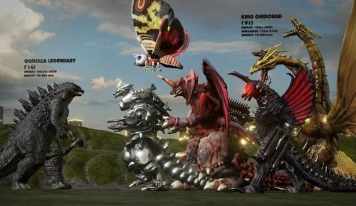 日本版ゴジラと歴代怪獣(1954-2014)の大きさを比較した人気映像に海外ファン感激