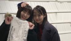 【乃木坂46】井上小百合と伊藤万理華の素敵なツーショット!