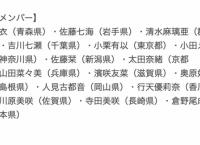 5/20 人見古都音 卒業公演の出演メンバー発表!