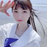 『[ノイミー] 菅波美玲「私と海って、もしかして最強...?」』の画像