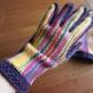 №150-4 オランジュ(プロバンスシリーズ)でかぎ編み手袋 4