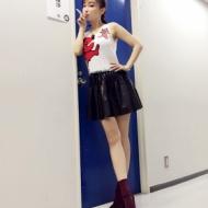 平子理沙、アイドルに負けない超ミニ姿披露 「スタイル抜群~」の声 アイドルファンマスター