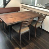『丸亀市にミキモク・Choiceテーブルとドリームベッド・ウレルディ240にバビロンをセットして納品』の画像