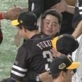 福田秀平と工藤監督が意味深な抱擁