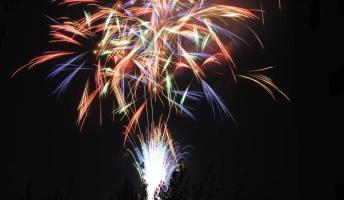 【画像】打ち上げ花火の写真撮ったからみて欲しい