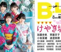 【欅坂46】B.L.T.8月号けやき坂46オフショット動画を公開中!浴衣ではしゃぐ欅ちゃん可愛すぎ!