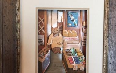『シャドーボックス教室 皆さんの作品』の画像