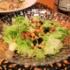 『ひき肉とズッキーニのカチョエペペ』の夜ごはん。
