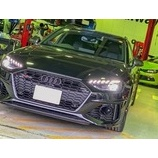『Audi RS4(B9)avantにMSS Sports Fully Adjustable Kitをお取り付け!』の画像