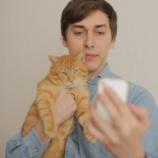 『飼いネコがなんとも言えない顔をしてて草』の画像