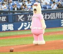 『【モーニング娘。'19】牧野まりパカが今日のDeNA vs 日本ハム戦でセレモニアルピッチ!』の画像