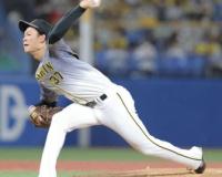 中継ぎフル回転の阪神及川雅貴 5回に3連続四死球、1死も取れず降板