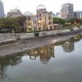 広島で朝ラン14キロ