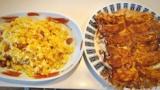 チャーハン餃子定食できたwww(※画像あり)