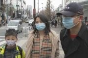 【新型肺炎】春節で来日した中国人 原宿でマスクつけて観光…「中国にいると心配、日本は安心。マスクもっと買えるとうれしいです」