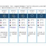 『【香港最新情報】「雷雨で稲妻2000回、沙田は大雨」』の画像