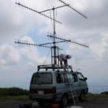 『2016年 7月29日 430MHzSSB全国伝搬通信実験(弘前市・岩木山)』の画像
