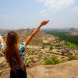 『ゾウのいる寺院で結婚式?ハンピの不思議な絶景スポット マータンガ丘』の画像