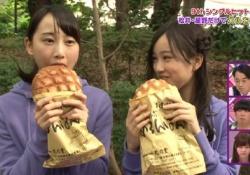 【乃木坂46】女の子がおっきいメロンパン食べてるのってかわいいよなwwwww
