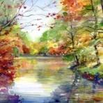 カクロクさんの水彩画2