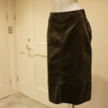 『irise(イリゼ)ヨーク切り替えデザインベロアスカート』の画像