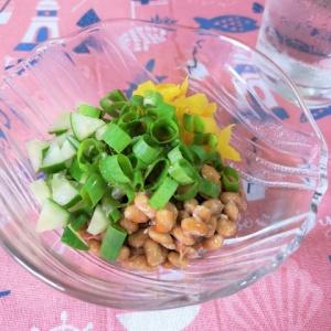絶妙な味わい♪たくあん納豆