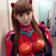 【画像】 中川翔子さん アスカのコスプレで大胆にお尻を突き出すwwwwwwwwww アイドルファンマスター