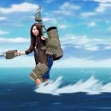 『【画像集】アニメ艦これPV第壱弾の赤城の水上スキーがネット上で大量のクソコラが作られ話題に!#艦これ 5/5』の画像