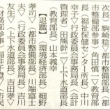 『戸田市人事(部局長以上)が発表されていました』の画像