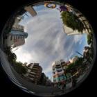 『円周魚眼レンズによる錦糸町界隈 2020/05/20』の画像