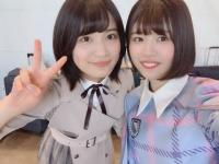 【欅坂46】織田奈那と日向坂2期生のツーショットが微笑ましいwww