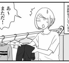 洗濯物にくっつくあれは何?