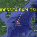 【中国】南シナ海で巨大水中爆発が発生?放射線量上昇?原子力潜水艦が爆発か…!? [海外]