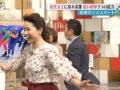 【速報】フジテレビが岡崎朋美の下着がが透ける放送事故発生 (画像あり)