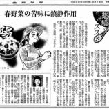 『春野菜の苦味に鎮静作用|産経新聞連載「薬膳のススメ」(20)』の画像