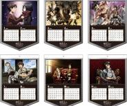 『2015年版 進撃の巨人カレンダー』 11月20日販売開始!予約は9月30日まで