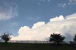 夏真っ盛り!天の川沿い、私市の水辺プラザを散策してみた!〜天野川砂防堰堤と入道雲と雷と〜