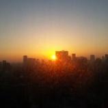 『東京の朝焼け』の画像
